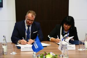 Подписание соглашения о сотрудничестве с ООО «Газпром недра»